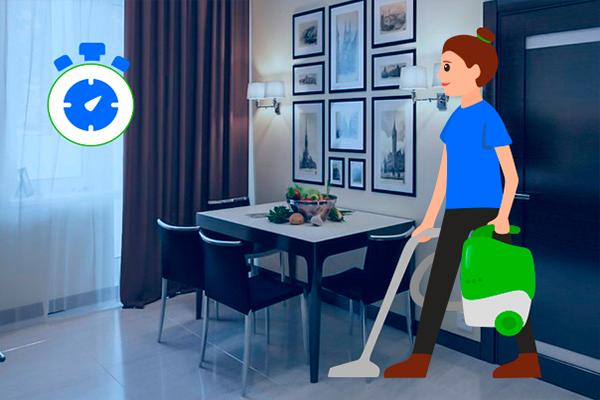 Экспресс уборка квартиры